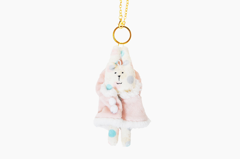 Fluffy RAB KEY RING