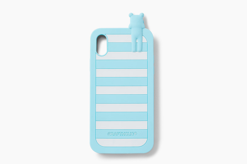 BLUE BORDER SLOTH iPhone (X/XS) case