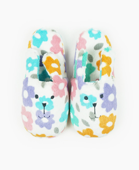 FLOWER RAB SLIPPER