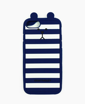 Shell Cover for iPhone 7 (BLUE BORDER SLOTH)
