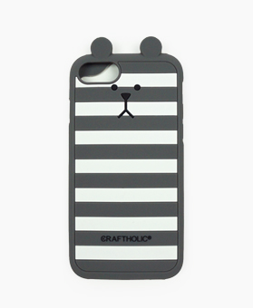 Shell Cover for iPhone 7 (GRAY BORDER SLOTH)