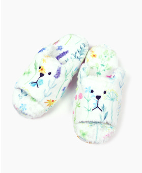 BOTANICAL SLOTH OPEN SLIPPER