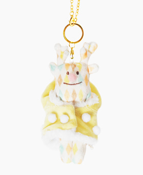 Fluffy RIBOU KEY RING