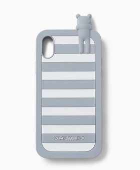 GREY BORDER SLOTH iPhone (X/XS) case