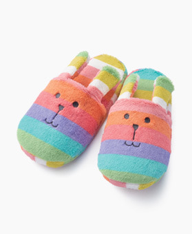 RAINBOW RAB SLIPPER