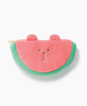 WATERMELON SLOTH POUCH
