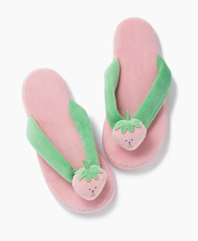 STRAWBERRY RAB FLIP FLOPS