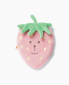 STRAWBERRY RAB POUCH