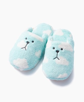 BLUE CLOUD SLOTH SLIPPER